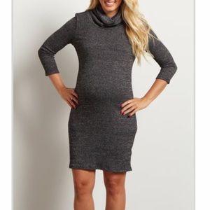 Pinkblush maternity sweater dress